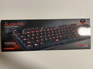 HyperX Alloy FPS Mechanical Gaming Wired Keyboard with Red Backlight and Cherry MX Red Switches for Sale in The Bronx, NY