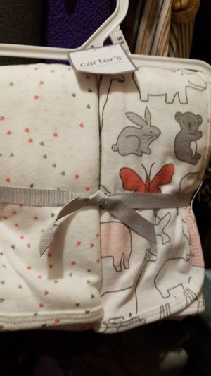 2Piece swaddle blanket for Sale in Detroit, MI