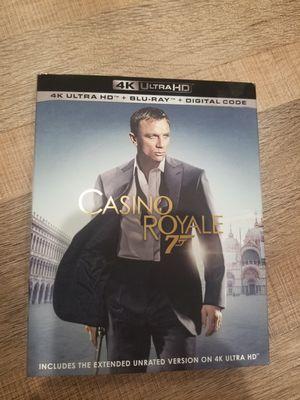 Casino Royale 4K Blu Ray! New! No digital! for Sale in Orange, CA