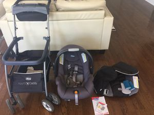 Chicco car seat with caring and basin for Sale in Lake Park, NC