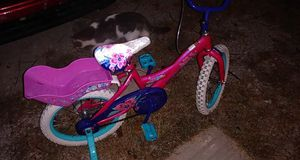 Pink bike for her and her babydolls for Sale in Wichita, KS