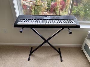 Casio 61-Key Piano Keyboard for Sale in Seattle, WA