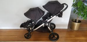 Baby Jogger City Select Double Stroller Glider Black for Sale in Newport News, VA