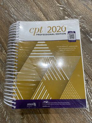 CPT 2020 Professional Edition Book -Sealed for Sale in Willow Spring, NC