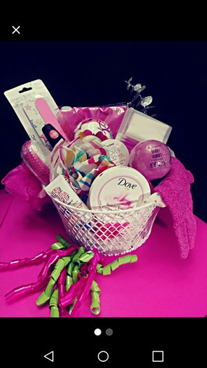 Girls Spa Basket for Sale in Mineola, TX