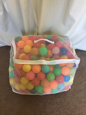 Plastic Balls (games or ball pits) for Sale in Downey, CA