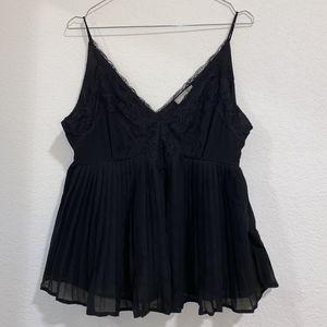 ASOS black babydoll cami for Sale in Cypress, CA