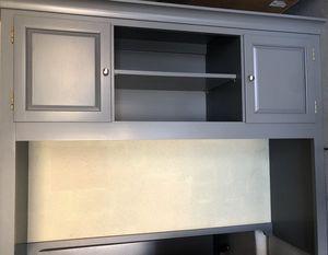 DESK SET - 3 pieces: desk, hutch & file cabinet for Sale in Scottsdale, AZ