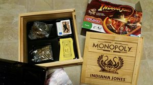 Indiana Jones Monopoly game for Sale in Alexandria, VA