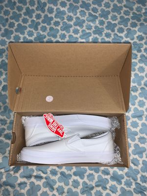 White Vans Slip ons for Sale in Anaheim, CA
