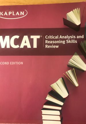 Kaplan Critical Analysis and Reasoning Skills Book for the MCAT (2nd Edition) for Sale in MONTGOMRY VLG, MD