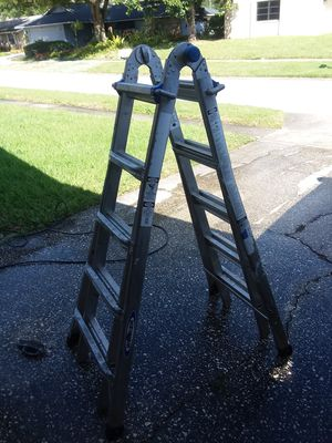 Werner 21 ft. Telescoping Multi-Position Ladder with 300 lbs. Load Capacity Type IA Heavy Duty Rating for Sale in Palm Harbor, FL