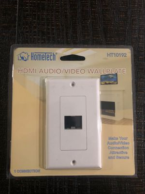 HDMI audio/video wall plate for Sale in Fontana, CA