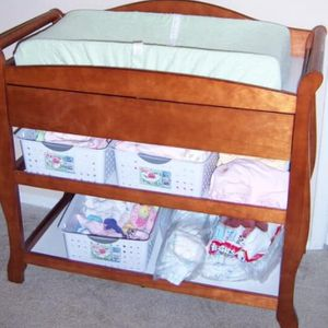 Diaper Changing Table with Pad for Sale in San Diego, CA