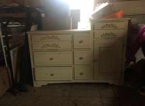 Baby wardrobe and dresser/changing table for Sale in Brookfield, CT