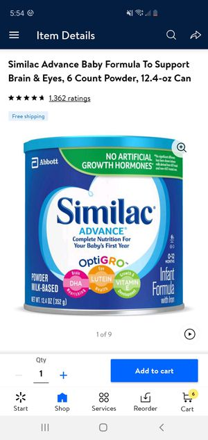 Similac Milk for Sale in Clodine, TX