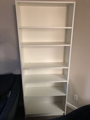 White Billy bookcase available for Sale in Los Angeles, CA