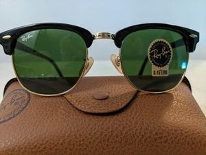 Brand New Authentic Rayban Clubmaster Sunglasses for Sale in Palos Verdes Estates, CA