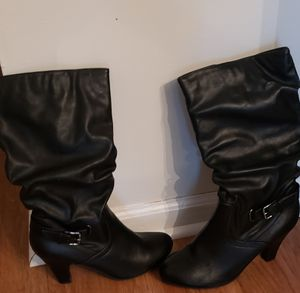 BLACK BOOTS for Sale in Greensboro, NC