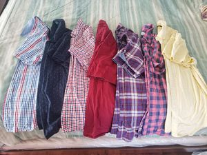Men's Short sleeve dress shirts - M for Sale in Hutto, TX