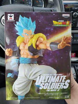 Dragon ball super Super Saiyan Blue Gogeta Movie Statue for Sale in Lorain, OH