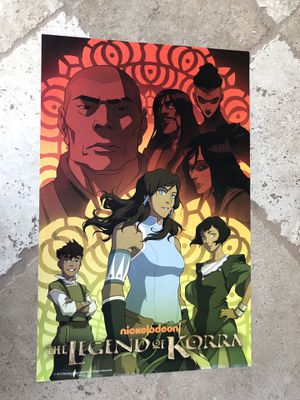 Legend of Korea Book 3 COMIC CON POSTER 11x17 for Sale in San Diego, CA