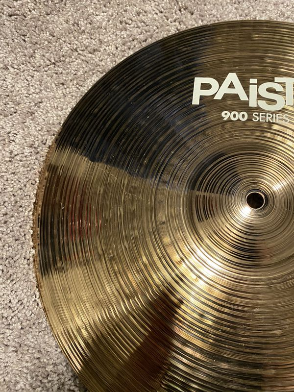 "Paiste 900 Series 16"" Crash Cymbal"