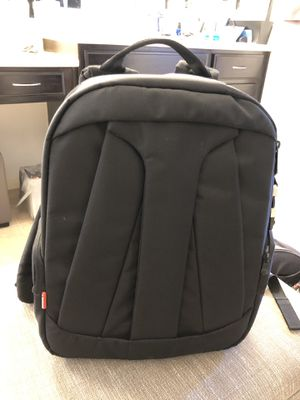 manfrotto DSLR camera backpack (like new condition) for Sale in San Diego, CA
