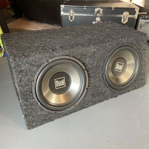 12 Inch Subwoofers With Amp for Sale in Mechanicsburg, PA