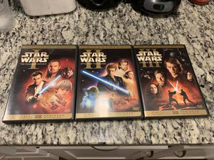 STAR WARS 1-3 digitally mastered for Sale in Forest Heights, MD