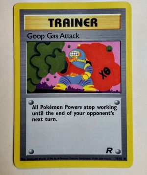 Pokemon Team Rocket Goop Gas Attack Common Trainer 78/82 - NearMint for Sale in Fenton, MO