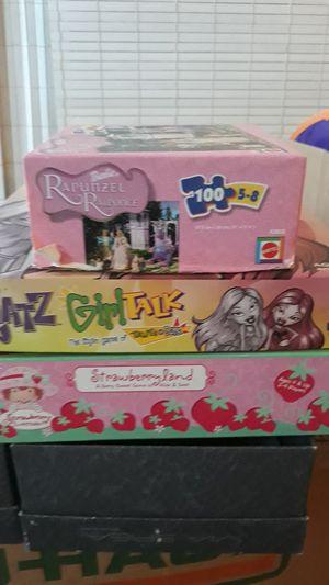 Bratz girl talk ,strawberryland , Rapunzel puzzle for Sale in San Francisco, CA