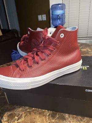 Converse Ctas II Red retail is 75$ , 50 OBO size 10 for Sale in Surprise, AZ