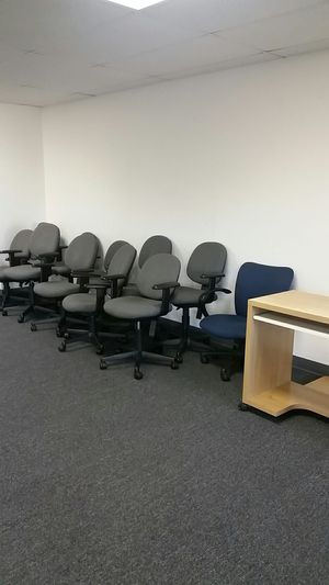 OFFICE CLOSED - EVERYTHING MUST SALE - CHEAP - CHAIRS. TABLES, CABINETS, DESK, SHELVES - VERY CHEAP for Sale in Anaheim, CA