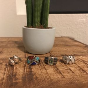 Various Sterling Silver Rings, Lia Sophia for Sale in Phoenix, AZ