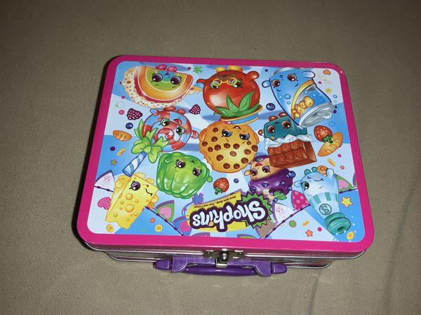 Shopkins - lunch box tin