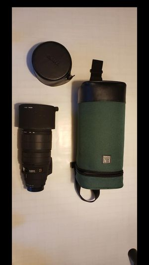 Sigma EX 120-300mmD f/2.8 Sports Lens with case for Sale in Granville, OH