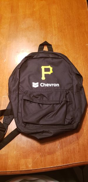 """Pittsburgh Pirates MLB Black Backpack Bookbag Kid's School Childs 15"""" Condition is New. for Sale in Carnegie, PA"""