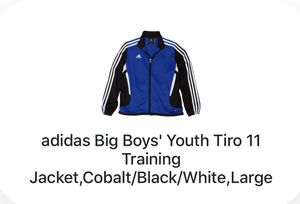 ADIDAS Big Boys' Tiro11 Training Jacket - L for Sale in Westerville, OH