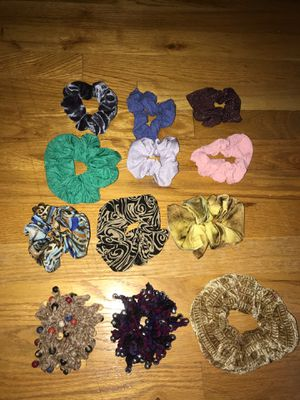12 Scrunchies for Sale in Marlboro Township, NJ