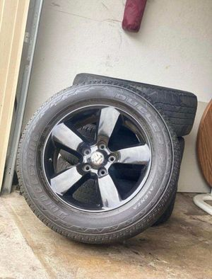 "20"" black Dodge Ram rims for Sale in Grand Prairie, TX"