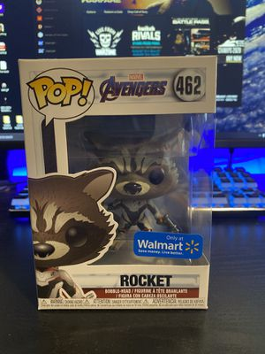 Rocket Avengers End Game Funko POP #462 Walmart Exclusive for Sale in Las Vegas, NV