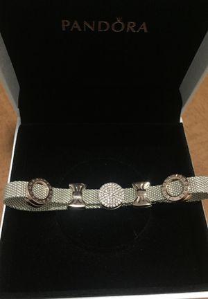 Pandora mesh bracelet + 5 charms for Sale in Las Vegas, NV