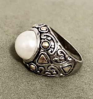 Costume Pearl Statement Ring for Sale in Portland, OR