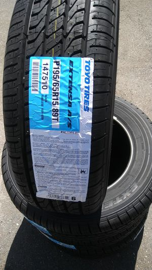 195/65R15 Toyo High Mileage 65k Tires for Sale in US