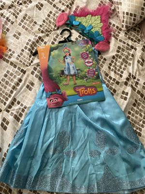 Girls Costume!! Disfraz para niñas de Trolls for Sale in Anaheim, CA