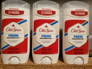 Old Spice deodorants 3x$10 for Sale in Hazard, CA
