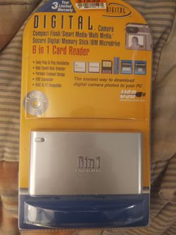 Digital camera 6 in 1 card reader for Sale in Aurora,  CO