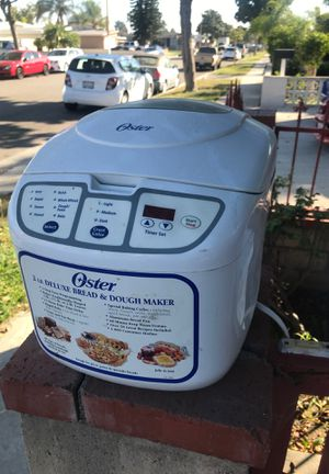 2lb Bread & Dough Maker for Sale in Santa Fe Springs, CA