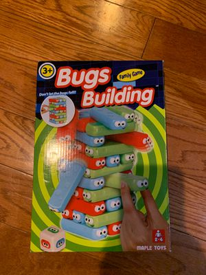 Bugs building game like Jenga for Sale in Covina, CA